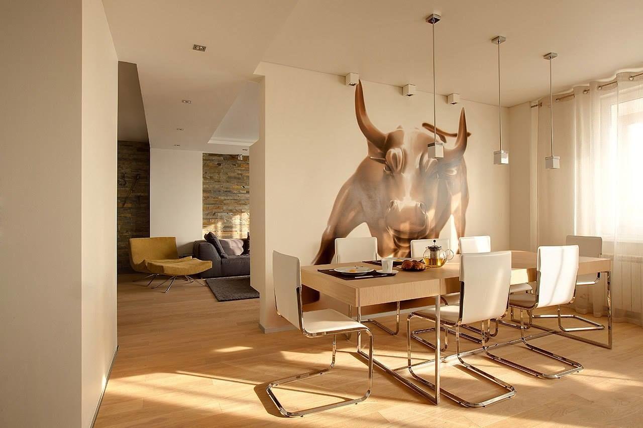 Гостиная «с характером». Проект студии дизайна интерьеров BTNK Architects