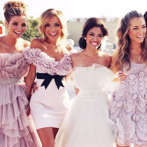 Платье подружки невесты  вдохновляемся образами известных ... 832893c24543d