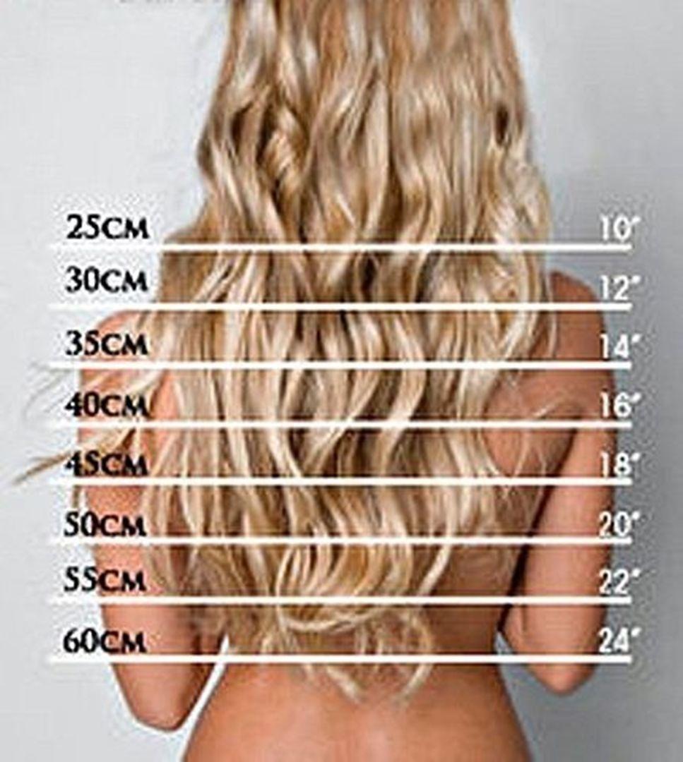 Волосы 30 см.